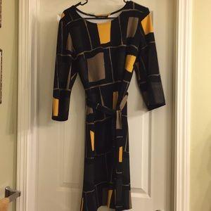 Nine West color block XL dress